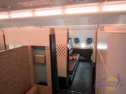 Etihad A380 The Residence Review Etihad Airways First Apartment Class On The A380 Running