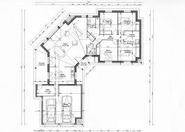 plan de maison 5 chambres plain pied plan maison en v plain pied idées décoration intérieure