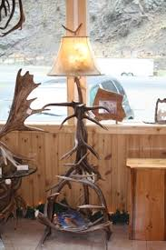 Antler Table Lamp Deer U0026 Moose Antler Lamps Antler Table Lamps