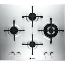 plaque cuisine gaz plaque cuisine gaz plaque de cuisson gaz 4 foyers inox electrolux