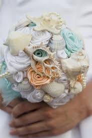 theme wedding bouquets shell bouquet sea shell bouquet destination wedding