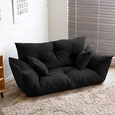 Folding Sofa Bed Modern Folding Sofa Bed Adjustable Arm Reclining Back Living Room