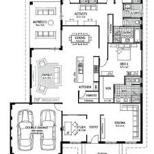 family floor plans modern house plans single floor plan the designers small unique