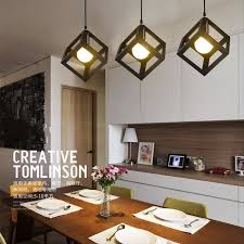 livingroom lighting vintage chandelier geometric shape lustre diy e27 adjustable