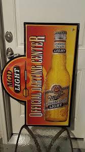 miller genuine draft light mgd miller genuine draft light offical darting center tin