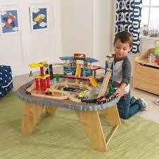Kidkraft 2 In 1 Activity Table With Board 17576 Train Sets U0026 Train Tables U2013 Nurzery Com