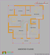 Kerala Home Design Floor Plan And Elevation by Smart Design 14 House Plan And Elevation In Kerala 1878 Sqfeet