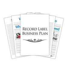 record company business plan template free loses advice cf