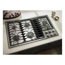Design Ideas For Gas Cooktop With Downdraft Kitchen Design White Granite Countertop With Gas