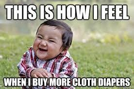 Diaper Meme - cloth diaper meme google search cloth diaper humor pinterest