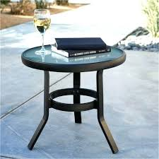 small outdoor accent tables small outdoor coffee table circular outdoor coffee table round black