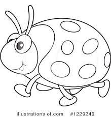 ladybug clipart 1229240 illustration alex bannykh