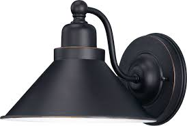 Black Wall Sconces Nuvo Bridgeview 60 1709 1 Light Wall Sconce 8 75w In Mission