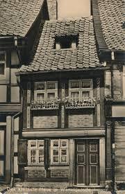 Haus In Haus Ak Das Kleinste Haus In Wernigerode Www Ansichtskarten Wenzel De