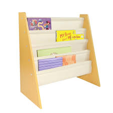 Children S Bookshelf Pidoko Kids Sling Bookcase Wooden Children U0027s Bookshelf With