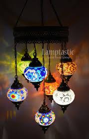 Mosaic Chandelier Turkish Stunning Glass Mosaic Chandelier Lighting Fixture U2013 Lamptastic