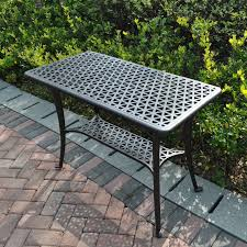 Patio Side Tables Metal Metal Patio Side Table Ideas For Metal Patio Table Metal Patio