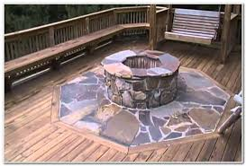 Firepit Mat Wood Deck Pit Mat Decks Home Decorating Ideas Onvkbzqrlm