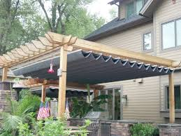 Pergola With Fabric by Montgomery Shade U0026 Awning Northern Virginia Premier Awning