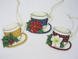 a stroke of jeanne ius teacup ornaments pattern packet 8 00