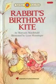 rabbit birthday rabbit s birthday kite by maryann macdonald