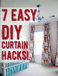 Easy Blackout Curtains Guest Post 7 Diy Ways To Hack Your Curtains