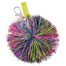 pom pom keychain multicolor yoobi