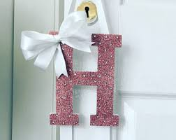 bow holder letter holder etsy