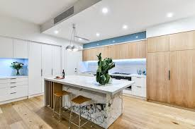 light wood kitchen cabinets modern perth leaning wine rack kitchen contemporary with marble
