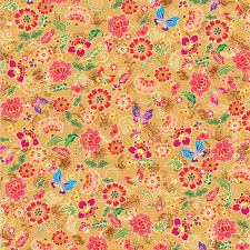 buy flowers butterflies batik gift wrapping paper gift wrapping