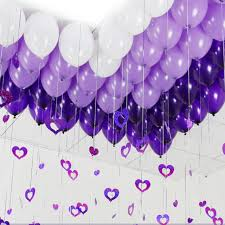 purple decorations 10 inch purple pearl balloons wedding decoration
