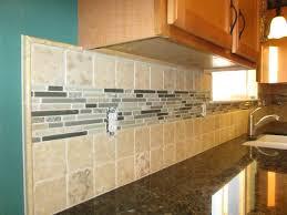 Travertine Tile For Backsplash In Kitchen - kitchen trendy kitchen glass and stone backsplash best 25