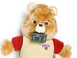 hack a teddy ruxpin to say everything you type or tweet make
