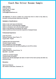 Cdl Resume Sample by Resume For Bus Driver Resume For Your Job Application