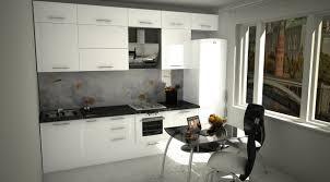 cuisine high tech visualisation 3d cuisine en style high tech dans le style hi tech