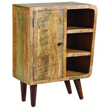 orbit distressed mango wood cabinet free shipping today