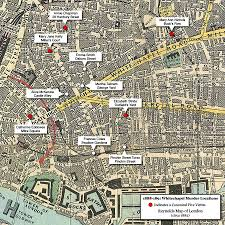 halloween horror nights map map of whitechapel murder locations 1888 1891 most if not all