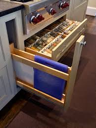Spice Rack In A Drawer Gorgeous Ideas Kitchen Spice Drawers For Cabinets Racks Drawer