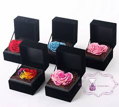 preserved roses rainbow heart shape wholesale fresh preserved roses flower