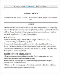 Sample Resume For Sous Chef Entry Level Chef Resume Sous Chef Resume Samples Chef Resume