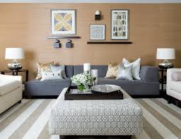 magnificent oversized ottoman in living room contemporary with