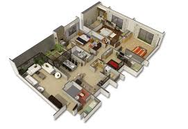 houses with 4 bedrooms 50 four 4 bedroom apartment house plans ideachannels