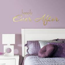 roommates 5 in x 11 5 in happily ever after quote 8 piece peel happily ever after quote 8 piece peel and stick wall decal rmk3085scs the home depot