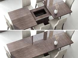 tables contemporary glass dining table modern italian dining