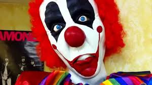 images of clown props halloween creepy carnival decorations