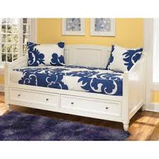 White Daybed With Trundle Naples Cream Daybed By Home Styles Free Shipping Today