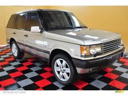 white and gold range rover 2000 white gold land rover range rover 4 0 se 50549777 gtcarlot