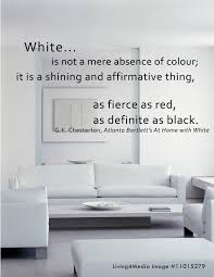 Home Design Interior Colour As Fierce As Red As Definite As Black White Color White