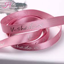 personalized ribbon 10mm 75mm custom print metallic ribbon festival decoration