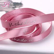 metallic ribbon 10mm 75mm custom print metallic ribbon festival decoration